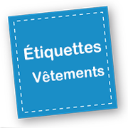 etiquettes vetements